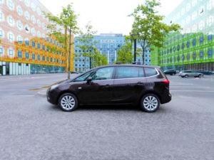 Opel Zafira с пробегом